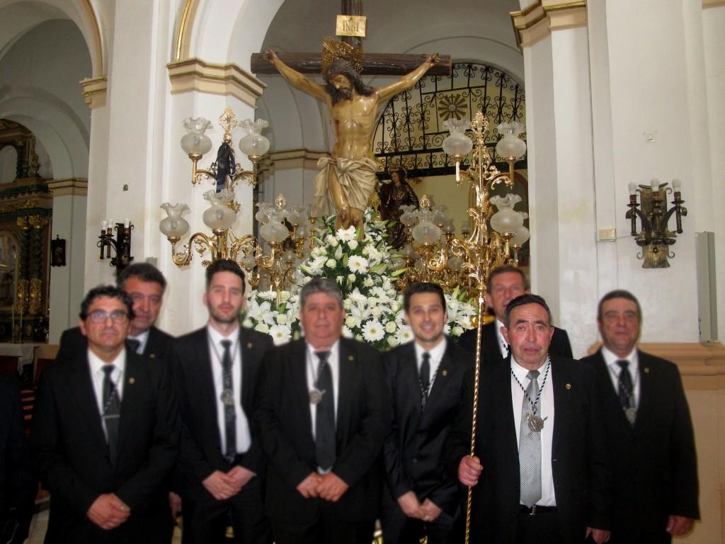 Ha fallecido Pepe Abadía, componente de la Junta Mayor de Cofradías. El entierro será hoy sábado a las 15,30 horas. Que su Cristo de la Salud, al que tanto acompañó, lo haya acogido en su brazos y descanse en paz.